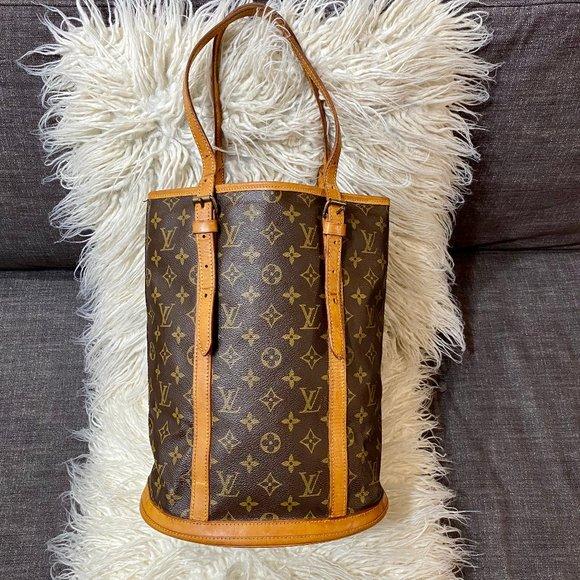 Louis Vuitton Handbags - Authentic LOUIS VUITTON Bucket Tote Shoulder Bag